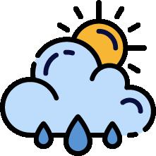 天候の変化に対応