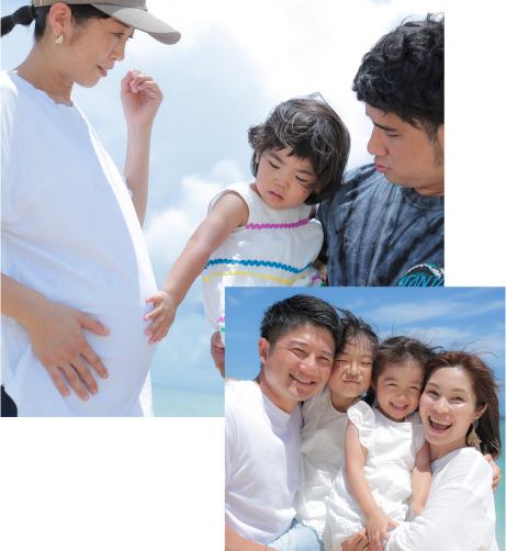 経験豊富なスタッフが家族の一員となり、寄り添います。